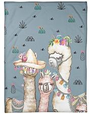 "Perfect T shirt for Llama and Alpaca lovers Large Fleece Blanket - 60"" x 80"" thumbnail"
