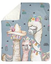 "Perfect T shirt for Llama and Alpaca lovers Sherpa Fleece Blanket - 50"" x 60"" thumbnail"