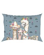 Perfect T shirt for Llama and Alpaca lovers Rectangular Pillowcase thumbnail