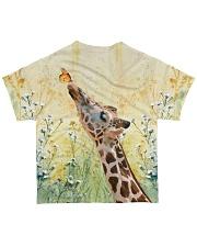 Perfect T shirt for Giraffe lover All-over T-Shirt back
