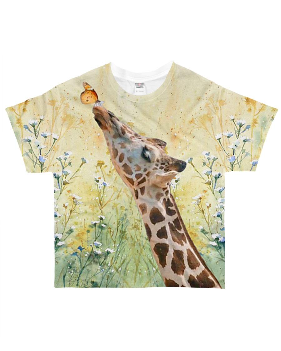 Perfect T shirt for Giraffe lover All-over T-Shirt