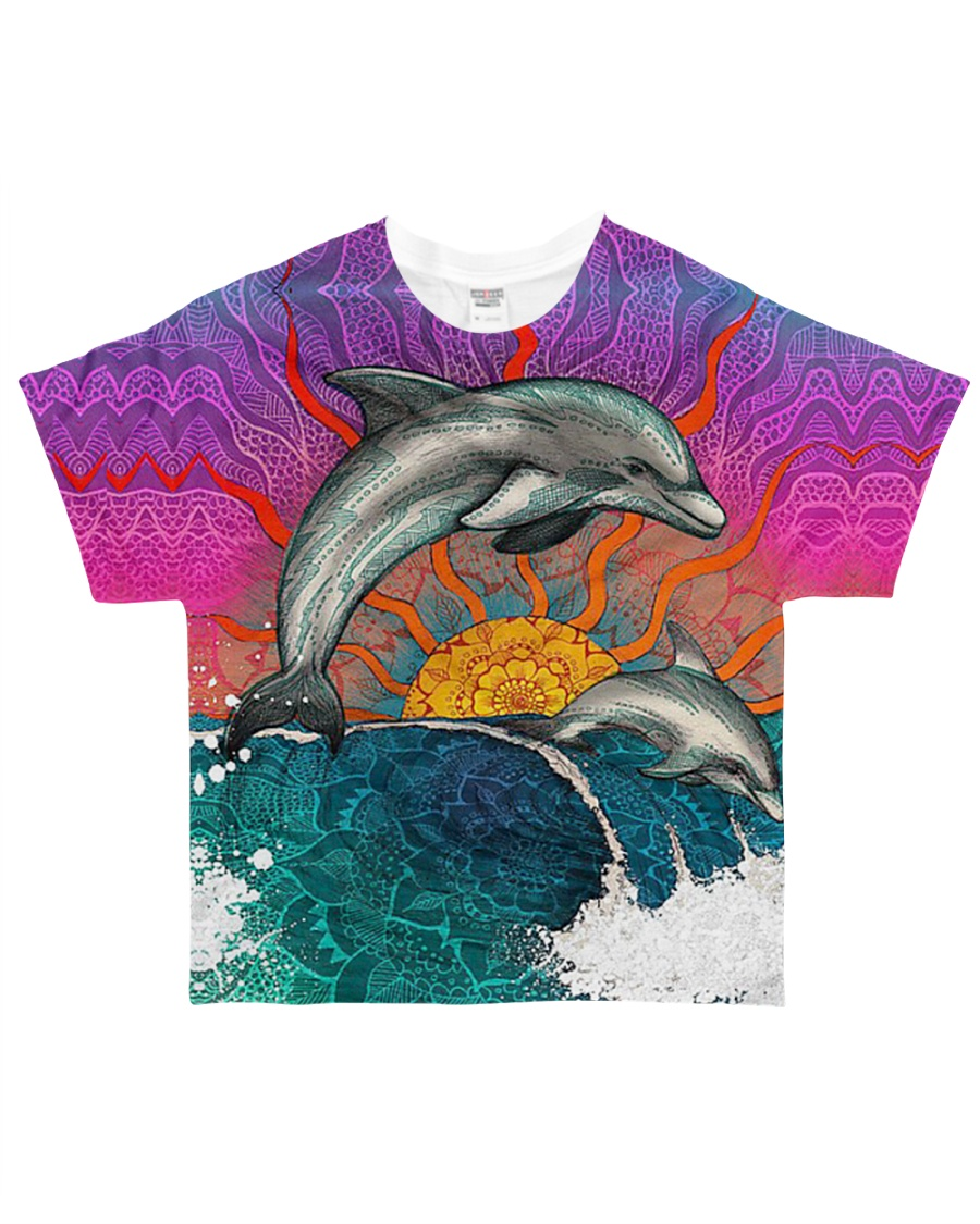 For Dolphin Lover All-over T-Shirt