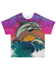 For Dolphin Lover All-over T-Shirt front