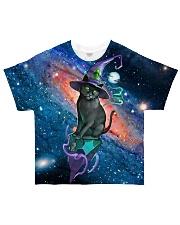Halloween cat shirt All-over T-Shirt front