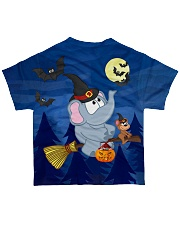 Halloween Elephant Tee All-over T-Shirt back