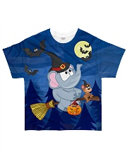 Halloween Elephant Tee All-over T-Shirt front