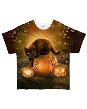 Halloween Cat Tee All-over T-Shirt front