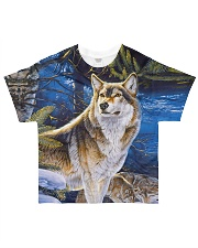Perfect T shirt for Wolf lovers All-over T-Shirt front