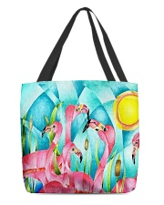 Perfect T shirt for Flamingo lovers All-Over Tote tile