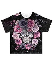 Halloween Skulls Tee All-over T-Shirt front