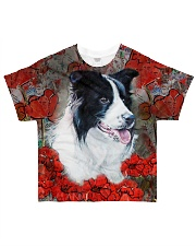 Border Collie Tee All-over T-Shirt front