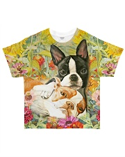 Boston Terrier Tee All-over T-Shirt front