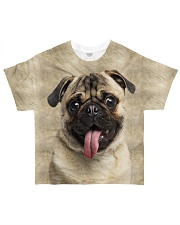 Perfect Gift For Pug Lovers All-over T-Shirt front