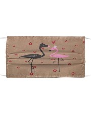 Perfect T shirt for Flamingo lovers Cloth face mask thumbnail