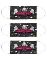 Halloween Flamingo Tee Cloth Face Mask - 3 Pack thumbnail