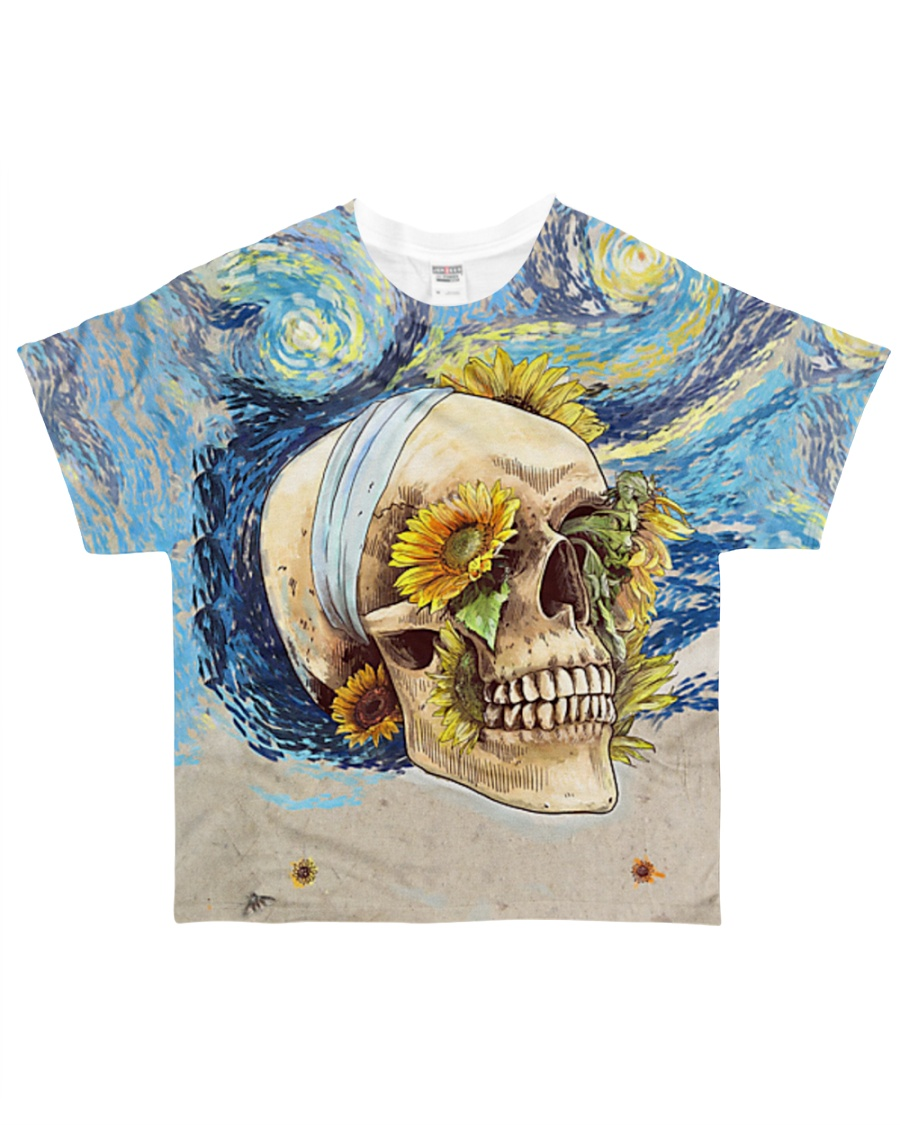 Perfect Gift For Skull Lovers All-over T-Shirt