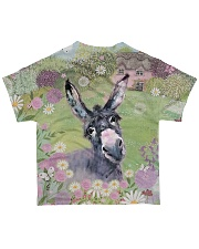 Perfect T shirt for Donkey lovers All-over T-Shirt back