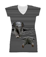 Love Elephant - in full All-over Dress thumbnail