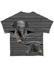 Love Elephant - in full All-over T-Shirt back