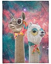 Perfect T shirt for Llama and Alpaca lovers Fleece Blanket tile