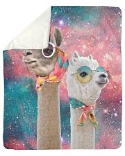 Perfect T shirt for Llama and Alpaca lovers Sherpa Fleece Blanket tile