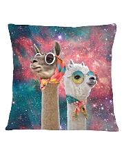 Perfect T shirt for Llama and Alpaca lovers Square Pillowcase thumbnail