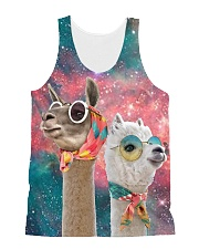Perfect T shirt for Llama and Alpaca lovers All-over Unisex Tank thumbnail