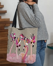 Perfect T shirt for Flamingo lovers All-over Tote aos-all-over-tote-lifestyle-front-09