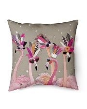 "Perfect T shirt for Flamingo lovers Indoor Pillow - 16"" x 16"" thumbnail"