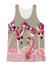 Perfect T shirt for Flamingo lovers All-over Unisex Tank thumbnail