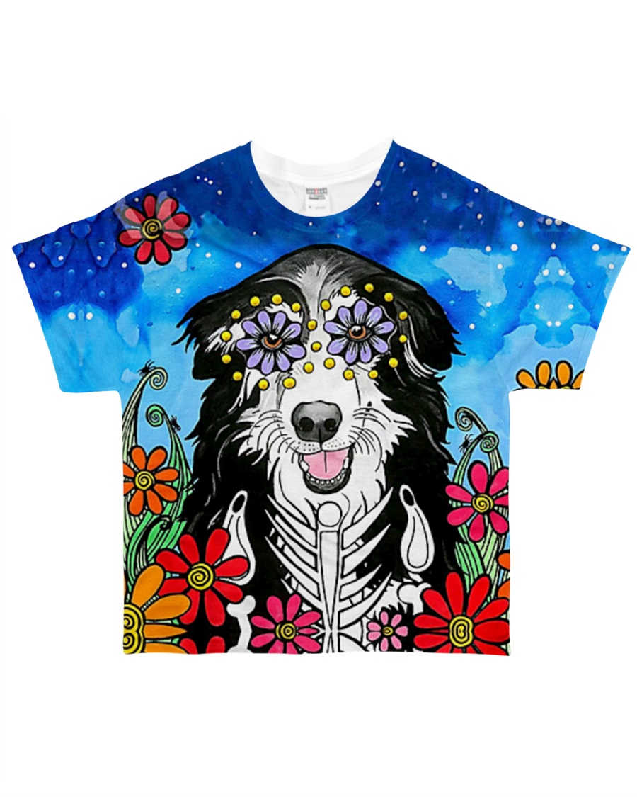 Halloween  Border Collie Tee All-over T-Shirt