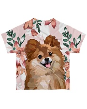 Perfect T shirt for Pomeranian lovers All-over T-Shirt back