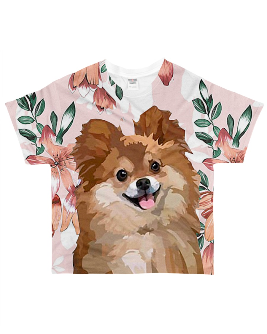 Perfect T shirt for Pomeranian lovers All-over T-Shirt