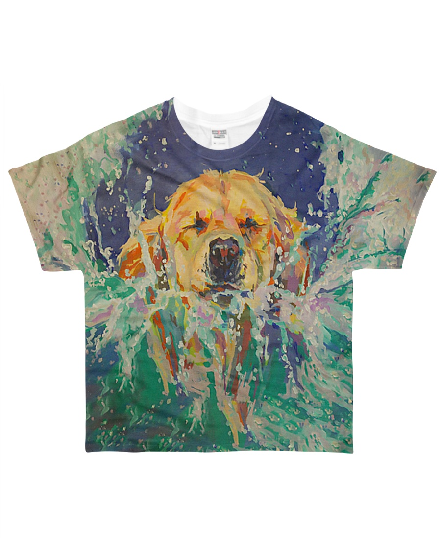 Perfect T shirt for Golden Retriever lovers All-over T-Shirt