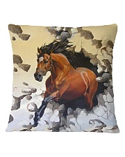 Perfect Gift For Horse Lovers Square Pillowcase thumbnail