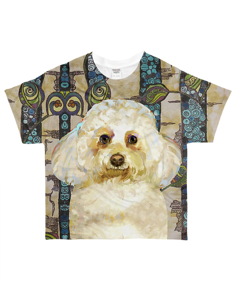 Perfect T shirt Bichon Frise lovers All-over T-Shirt