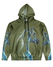 Perfect Gift For Horse Lovers Men's All Over Print Hoodie thumbnail