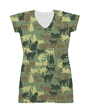 For Cat Lover All-Over Dress tile