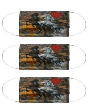 Horse Tee Cloth Face Mask - 3 Pack thumbnail