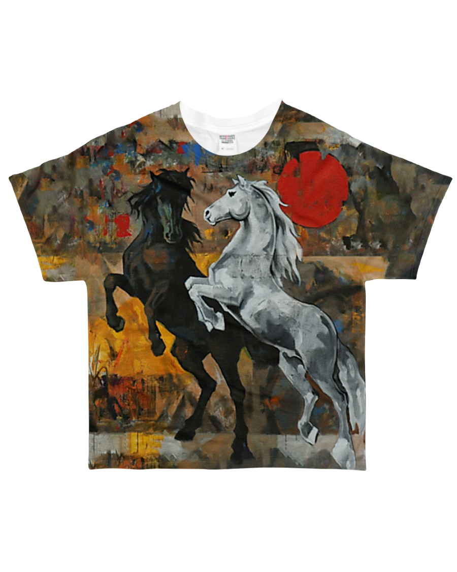 Horse Tee All-over T-Shirt