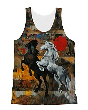 Horse Tee All-over Unisex Tank thumbnail