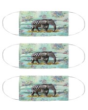 Perfect T shirt for Elephant lovers Cloth Face Mask - 3 Pack thumbnail
