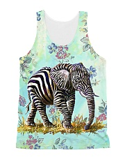 Perfect T shirt for Elephant lovers All-Over Unisex Tank tile
