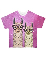 Perfect T shirt for Alpaca and Llama lovers All-over T-Shirt front