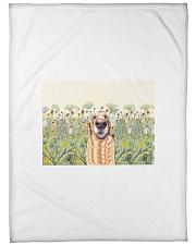 "Perfect T shirt for Golden Retriever lovers Large Fleece Blanket - 60"" x 80"" thumbnail"