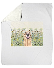 Perfect T shirt for Golden Retriever lovers Sherpa Fleece Blanket tile