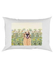 Perfect T shirt for Golden Retriever lovers Rectangular Pillowcase tile