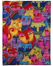 "Cat Tee Large Fleece Blanket - 60"" x 80"" thumbnail"