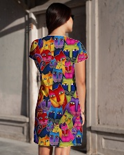 Cat Tee All-over Dress aos-dress-back-lifestyle-1
