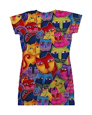 Cat Tee All-over Dress back